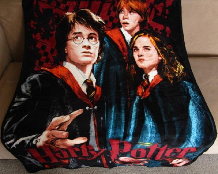 New Harry Potter Solemnly Swear Throw Blanket Gift Prisoner of Azkaban Movie NIP